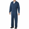 CC14NV Navy Cotton Coveralls, Snap Front