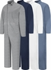 CC16 Cotton Coveralls Concealed Button Front