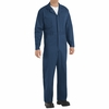 CC16NV Navy Cotton Coveralls Button Front