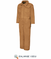 CD32BD Brown Blended Duck Insulated Coverall