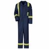Classic Navy Coverall with Reflective Trim - EXCEL FR