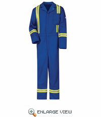 Classic Royal Coverall with Reflective Trim - EXCEL FR