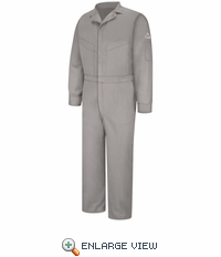 CLD6GY Deluxe Coverall - EXCEL FR® Grey ComforTouch® - 7 OZ.