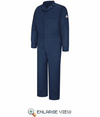 CLD6NV Deluxe Coverall - EXCEL FR® Navy ComforTouch® - 7 OZ.