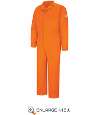 CLD6OR Deluxe Coverall - EXCEL FR® Orange ComforTouch® - 7 OZ.