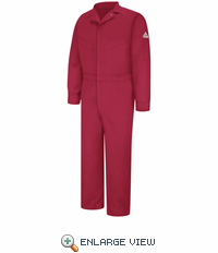 CLD6RD Deluxe Coverall - EXCEL FR® Red ComforTouch® - 7 OZ.