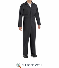 CT10BK Twill Action Back Coveralls by REDKAP