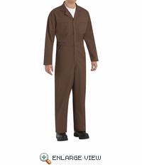 CT10BN Twill Action Back Coverall by REDKAP