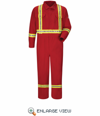 DELUXE Coverall Nomex 6OZ w/Trim RED - CNBCRD - Special Order