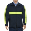Enhanced Visibility Navy Perma-Lined Jacket - JT50EN