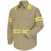 Enhanced Visibility Uniform Shirt - EXCEL FR ComforTouch - 7 oz. - CAT 2 - SLDTKH