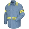 Enhanced Visibility Uniform Shirt - EXCEL FR ComforTouch - 7 oz. - CAT 2 - SLDTLB