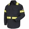 Enhanced Visibility Uniform Shirt - EXCEL FR ComforTouch - 7 oz. - CAT 2 - SLDTNV