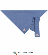 HLB6LD EXCEL FR™ Flame-resistant Light Denim COMFORTOUCH™ Bandana & Head Tie