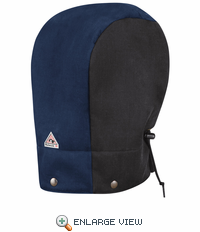 HLH6BN Color-Block Black/Navy Hood - Power Shield FR® Flame-resistant