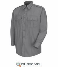 HS1122 Men's Grey Deputy Deluxe® Long Sleeve Uniform Shirt