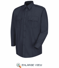 HS1126 Men's Dark Navy Deputy Deluxe® Long Sleeve Uniform Shirt