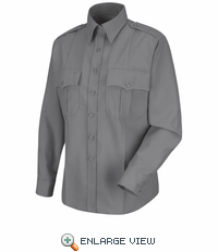 HS1174 Women's Grey Deputy Deluxe® Long Sleeve Uniform Shirt