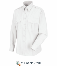 HS1177 Women's White Deputy Deluxe® Long Sleeve Uniform Shirt