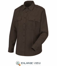 HS1183 Women's Brown Long Sleeve Sentry Plus Shirt