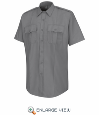 HS1220 Men's Grey Deputy Deluxe® Short Sleeve Uniform Shirt
