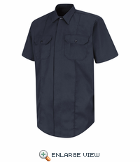 HS1430 New Dimension® Concealed Button Front Short Sleeve Shirt