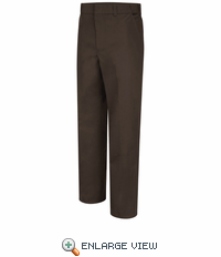 HS2512 New Dimension® Plus Brown 4-Pocket Trouser