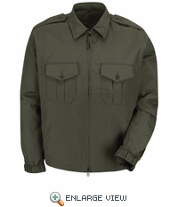 HS3423 Unisex Forest Green Sentry Jacket