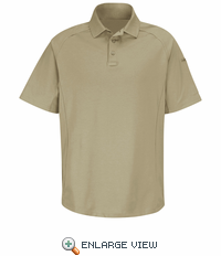 HS5125 Silver Tan Short Sleeve Special OPS Polo