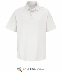HS5126 White Short Sleeve Special OPS Polo