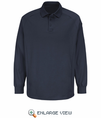 HS5127 Dark Navy Long Sleeve Special OPS Polo