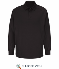 HS5128 Black Long Sleeve Special OPS Polo