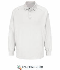 HS5130 White Long Sleeve Special OPS Polo