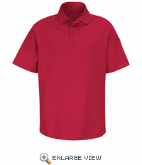 HS5134 Red Short Sleeve Special OPS Polo