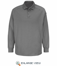 HS5135 Grey Long Sleeve Special OPS Polo