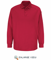 HS5136 Red Long Sleeve Special OPS Polo