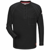 iQ Long Sleeve Henley QT20