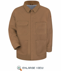 JLC4BD EXCEL- FR™ COMFORTOUCH™ Brown Duck Lineman's Jacket
