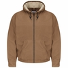 JLH4BD EXCEL- FR™ COMFORTOUCH™ Brown Duck Hooded Jacket