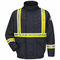 JLJCNV Flame Resistant Excel-FR Comfortouch Lined Bomber Jacket with CSA Reflective Trim