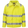 JMJ4HV Hi Vis Lined Bomber Jacket with Reflective Trim - CoolTouch�