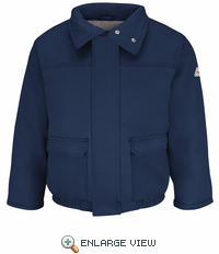 JMR8NV Navy Insulated Bomber Jacket - CoolTouch ® 2 - CAT 4