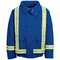 JNJTRBB Lined Royal Blue Bomber Jacket with Reflective Trim HRC2