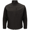 JP68BK Men's Black Deluxe Soft Shell Jacket