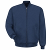 JT36NV Navy Unlined Solid Team Jacket