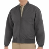 JT38CH Charcoal Perma Lined Solid Team Jacket
