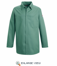 KEW2VG  EXCEL- FR™ Flame-resistant Visual Green Work Coat