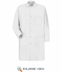 KK28WH Unisex ESD/ANTI-STAT White Tech Coat