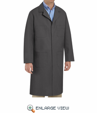 KT30CH Charcoal Shop Coat