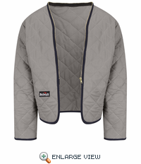 LML2GY EXCEL FR® Flame-resistant Modaquilt® Grey Zip-In/Zip-Out Liner